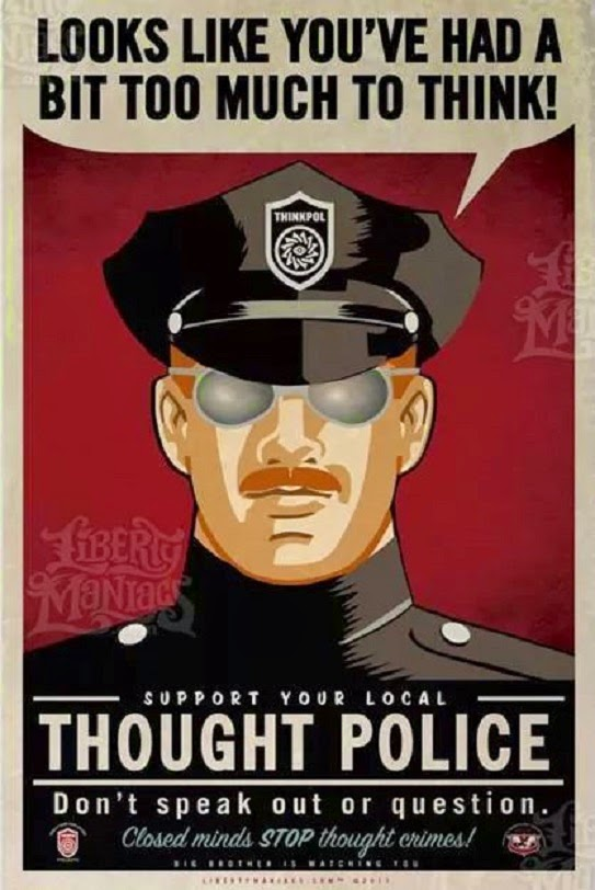 thought-police - conspiracy theory