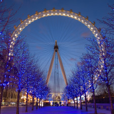 London Eye on the 7th of April 2006 as viewed from the rear. It is a 6 second exposure and taken with a Canon 5D and 24-105mm f/4L IS lens at 24mm, f/4 and ISO 50 - Retirement Planning?