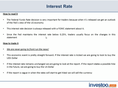 Interest Rates Definition | Investoo.com - Trading School, Brokers and Offers