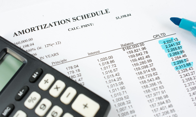 armotization schedule