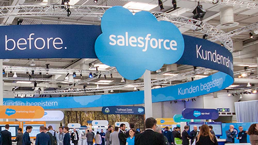Salesforce Shares Up As Light Outlook Seen As Conservative