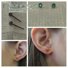 Earlobe Piercings Various INVSELF18