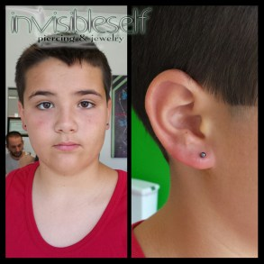 Earlobe Piercings Various INVSELF20