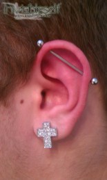 Industrial Piercings INVSELF15