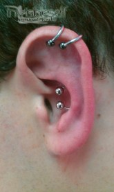 Multiple Ear Piercings INVSELF02