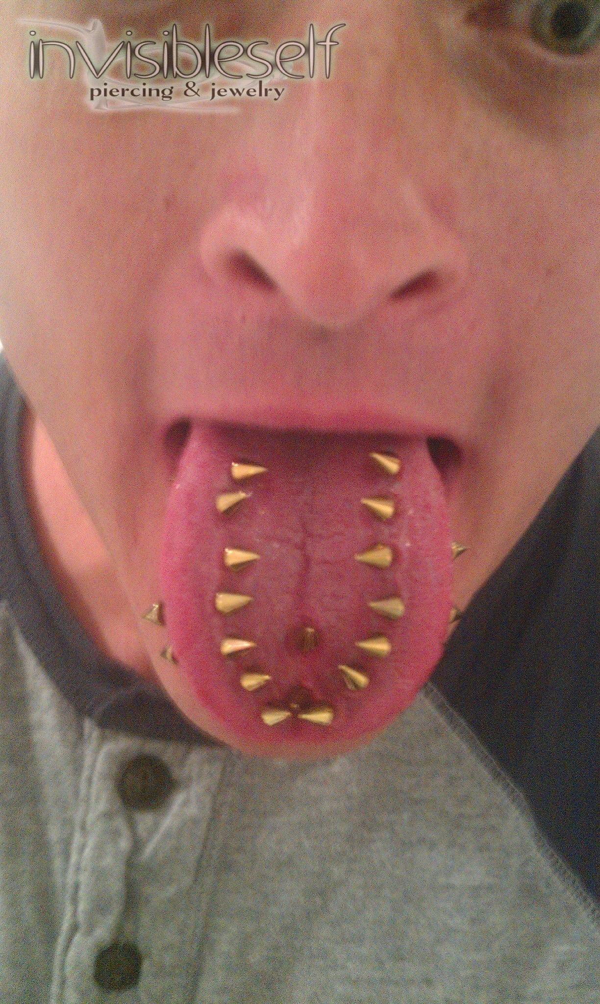 Tongue Piercings Gallery