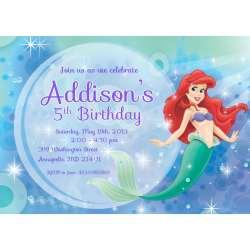 Distinguished Free Little Mermaid Invitation Templates Free Little Mermaid Invitation Templates Mermaid Birthday Invitations Amazon Mermaid 1st Birthday Invitations