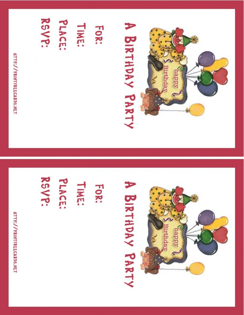 Printable Invitation Cards Online | Invitationswedd.org