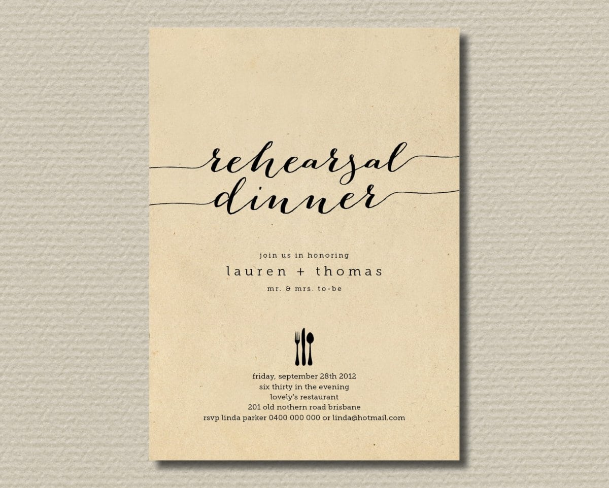 Free Printable Dinner Party Invitations – Dinner Party Invitations Templates
