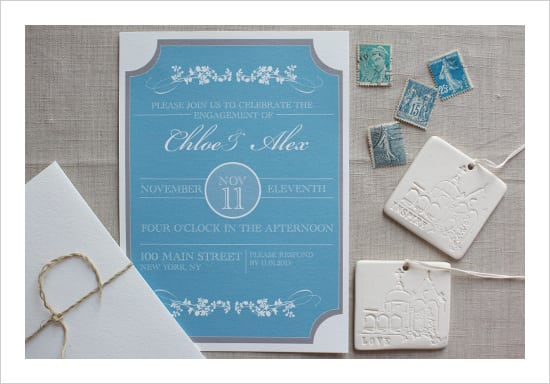 Engagement Invitation Templates Free Printable