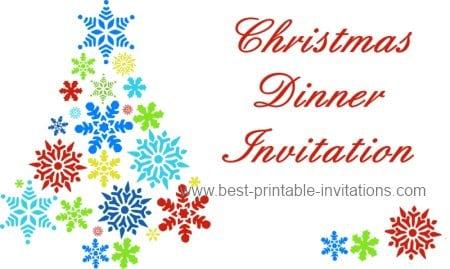 Free Printable Christmas Party Invitations Templates \u2013 diabetesmanginfo