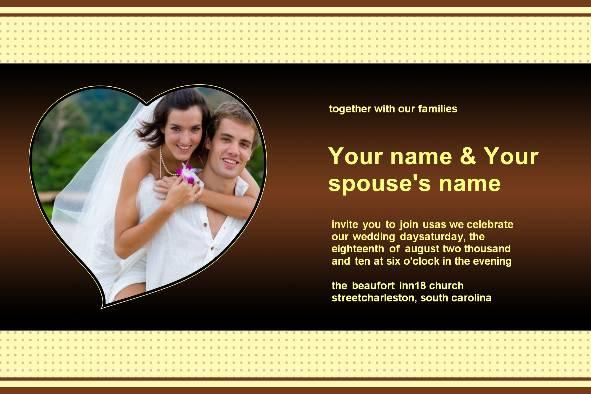 Wedding Invitation Templates Download Free - free invite template download