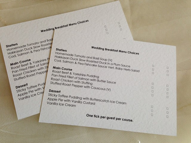 examples of rsvp cards