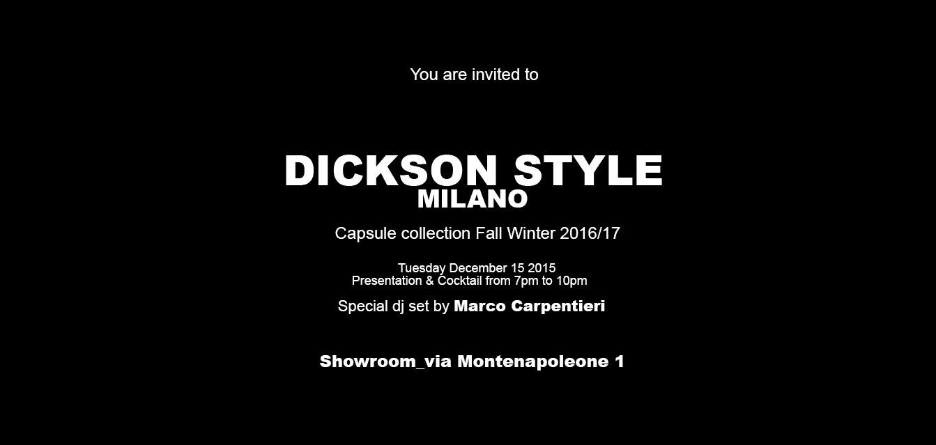 invito dickson Style