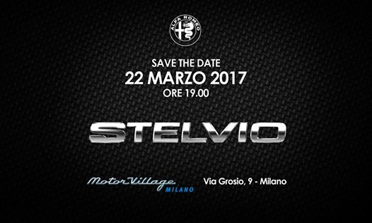 22.03 Lancio ALFA ROMEO Stelvio | Exclusive Cocktail Party