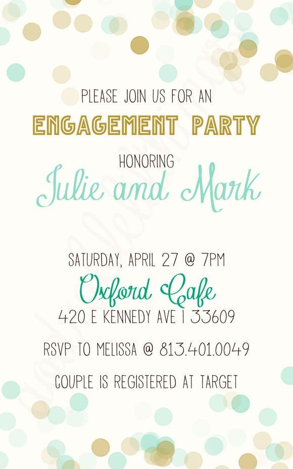 Free Engagement Invitation 56 Templatebillybullock – Engagement Invites Templates Free