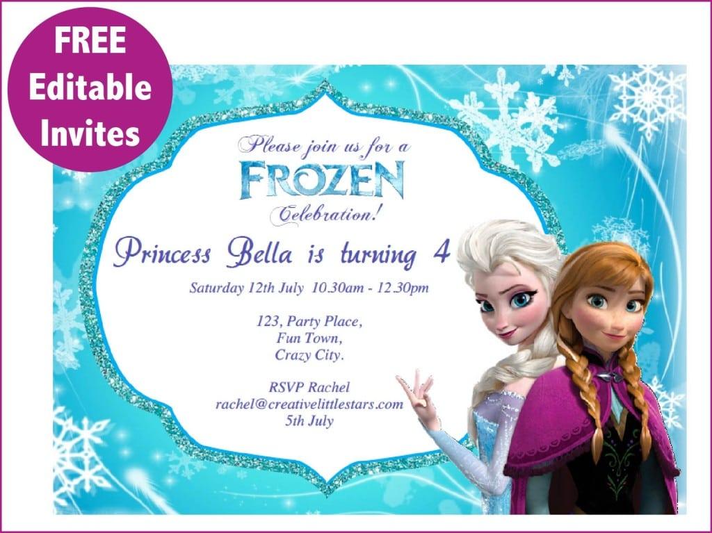 Menampilkan FrozenPartyjpgjpg party Pinterest - invitation birthday frozen