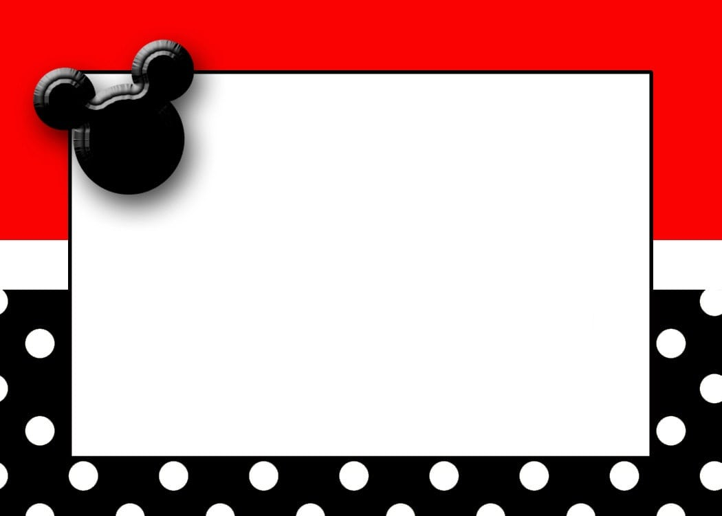 mickey mouse invitation maker