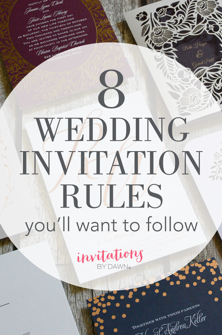 how to word a wedding invitations