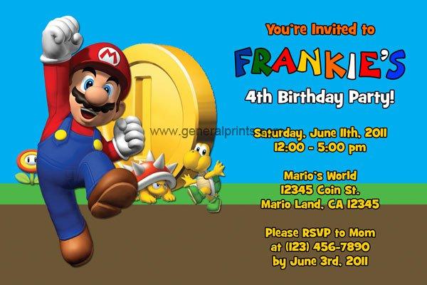 Free Printable Boys Birthday Invitations Cards