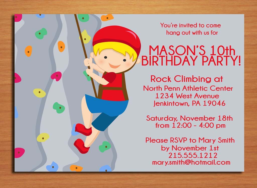 Free Printable Invitation Cards For Kids Birthday Party