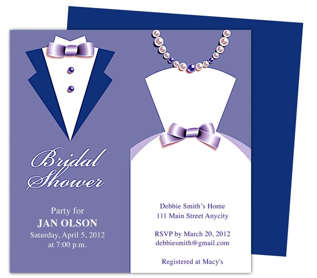 Wedding Shower Invitations Templates \u2013 orderecigsjuiceinfo