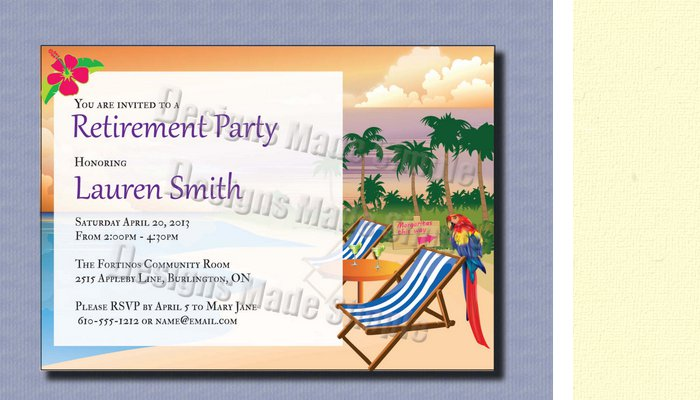 Retirement Party Flyer Templates Free - flyer invitation templates free
