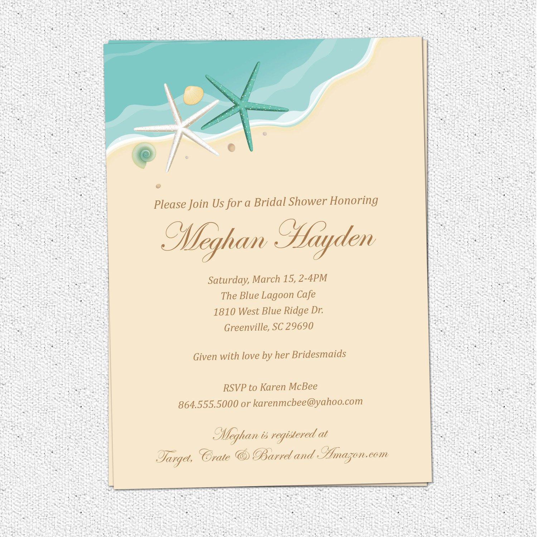 blank beach theme wedding invitations beach wedding invitations Wedding Invitations Blank