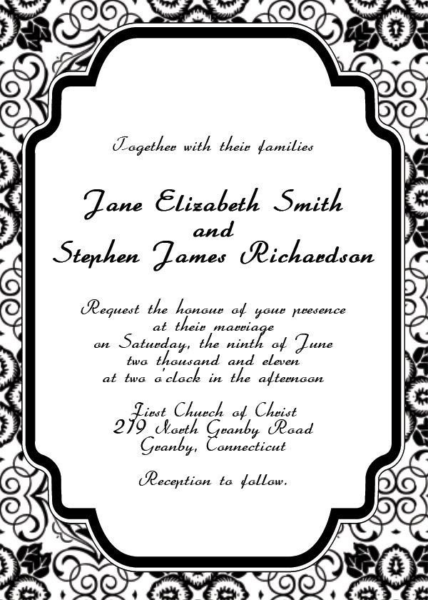 free elegant invitation templates - Goalgoodwinmetals