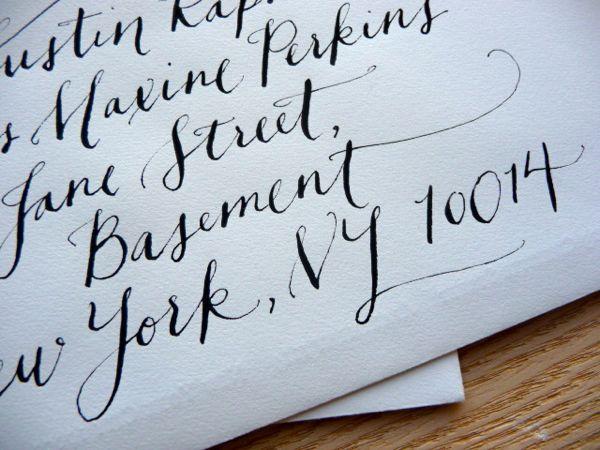 Best Wedding Invitation Envelopes Fonts