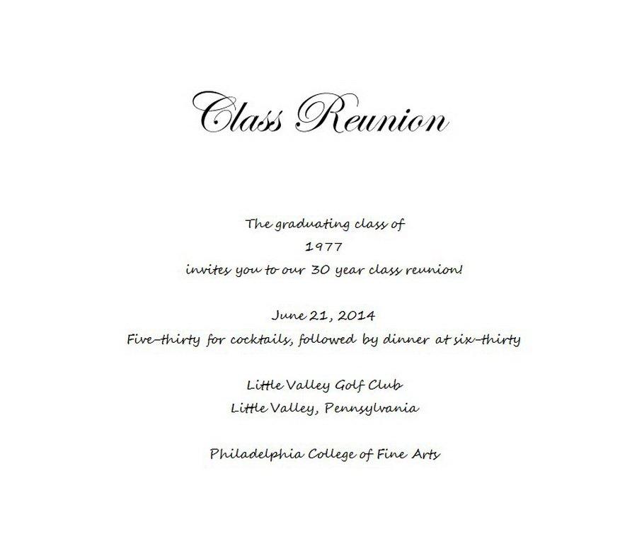 class reunion invitations templates - Ozilalmanoof