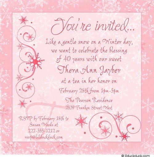 creative birthday invitation wording
