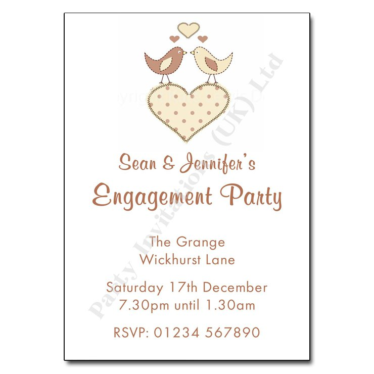 Engagement Party Invitation Wording - how to word engagement party invitations