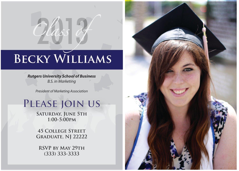 High School Graduation Invitations Sayings