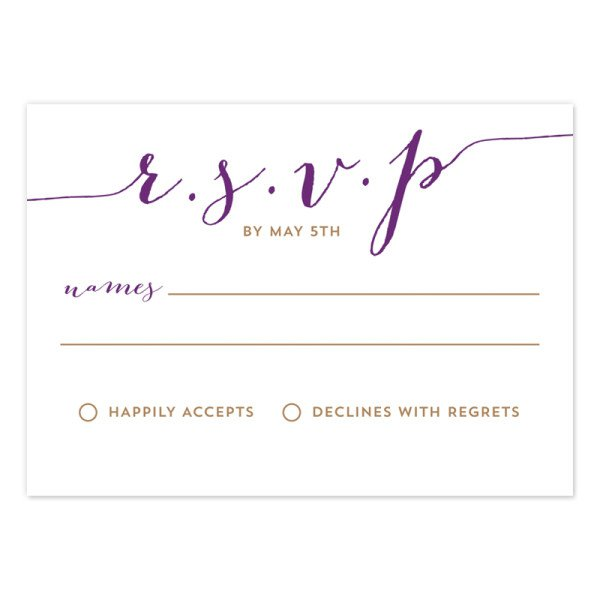 wedding invite reply card size - 28 images - wedding invitation