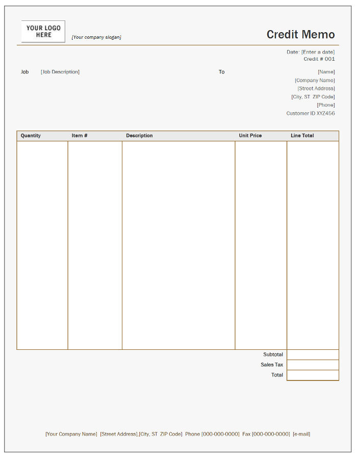 Free Credit Note Templates InvoiceBerry - format for credit note