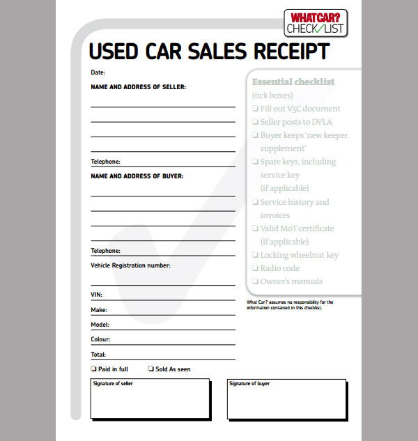 Car Sales Invoice Template Uk invoice example - car sales contract sample