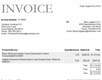Catering Invoice Template Word | invoice example