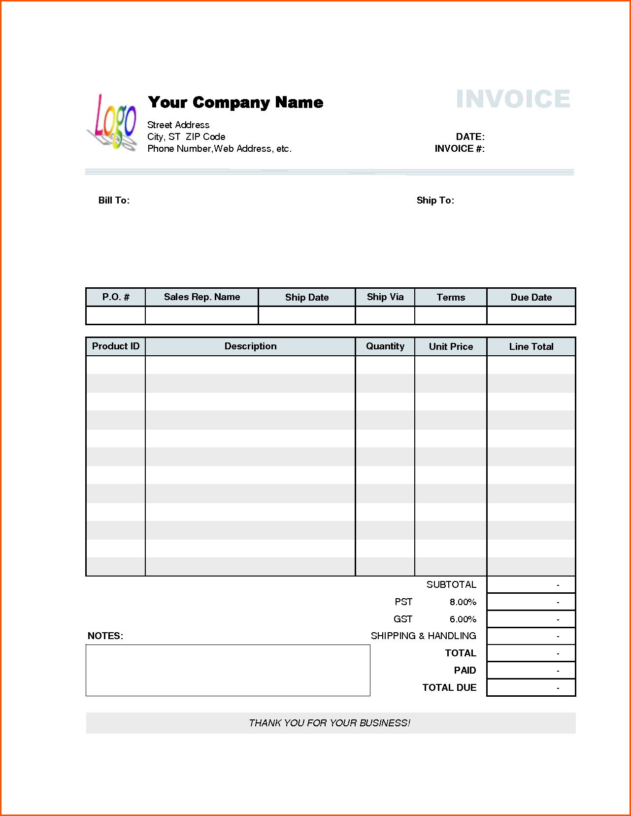 How To Buy A New Car Through Fleet Sales 14 Steps With Company Invoice Template Invoice Example