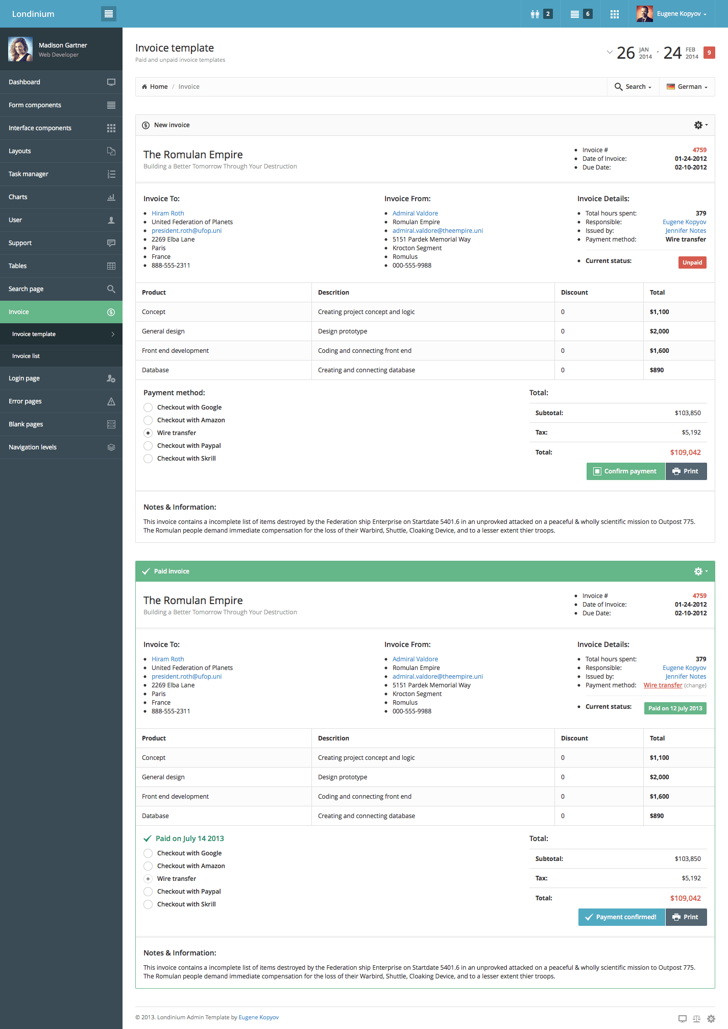 invoice generator free download