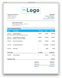 Invoice Template Pages