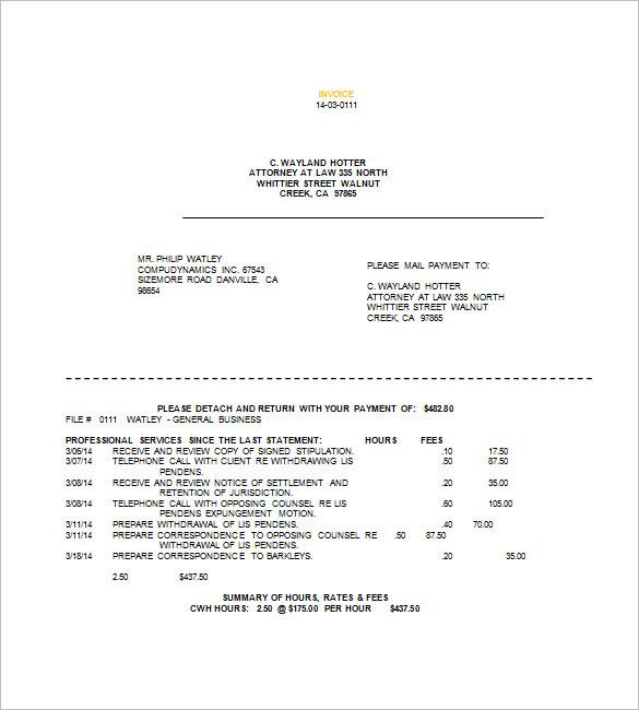 legal billing template - 28 images - 8 school fee bill format simple