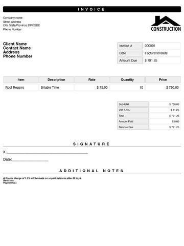 Quick Invoices - quick invoices
