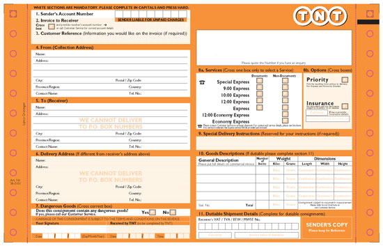 Tnt Commercial Invoice Template invoice example - online commercial invoice