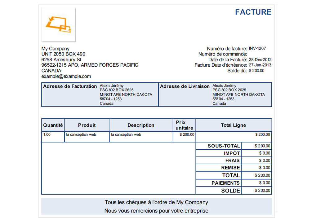 Invoice Journal Sample Invoices