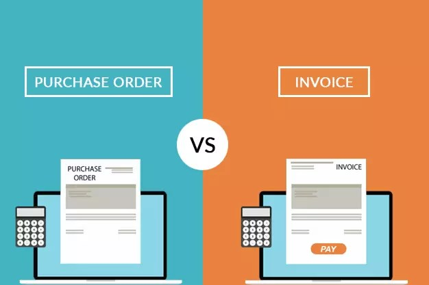 What is Purchase Order and how it is differ from an Invoice ?