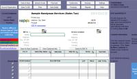 Handyman Invoice Template (Sales Tax)