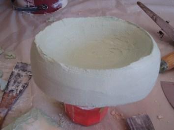 soap dish second coat tadelakt