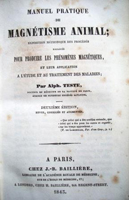 Een negentiende eeuws boek over dierlijk magnetisme