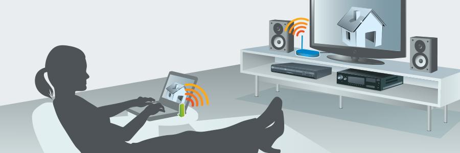 IOGEAR - GUWAVKIT4B - Wireless 1080p Computer to HD Display Kit